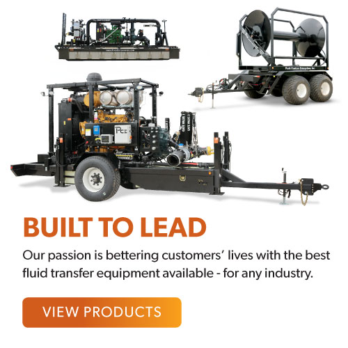 Built To Lead | Our passion is bettering customers' lives with the best fluid transfer equipment available - for any industry. | View Products