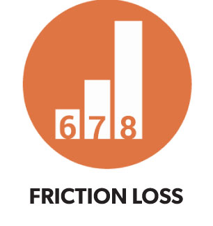 Friction Loss Icon