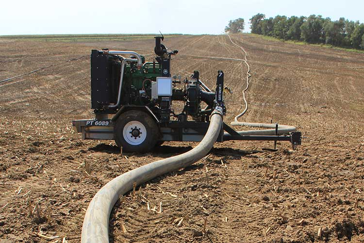 Pump in the field