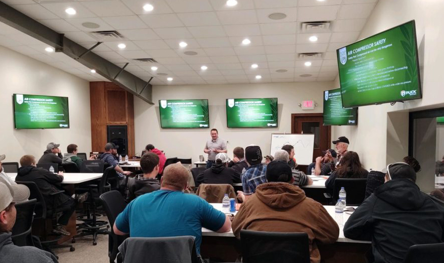 Puck's Pump School teach applicators and pump operators about how to be effective on the job site